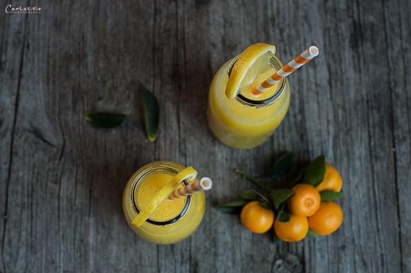 Zitrone Mango Limonade