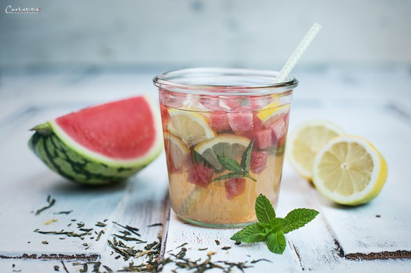 wassermelonen eistee