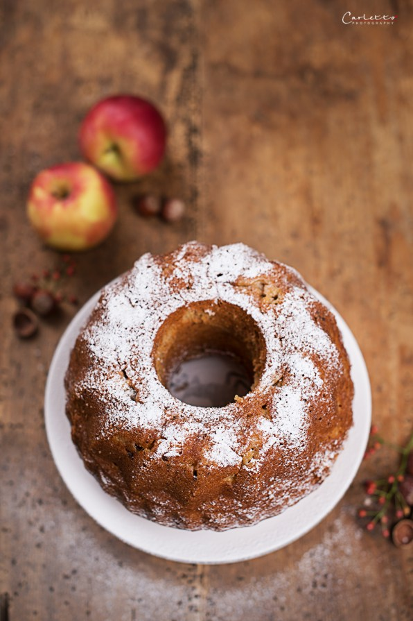 Apple Chai Nut Boundt Cake