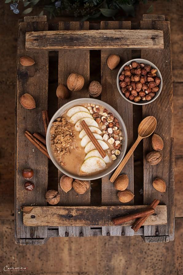 apfelstrudel smoothie bowl