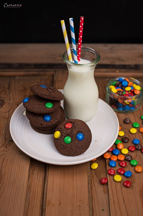 m&m schoko cookies
