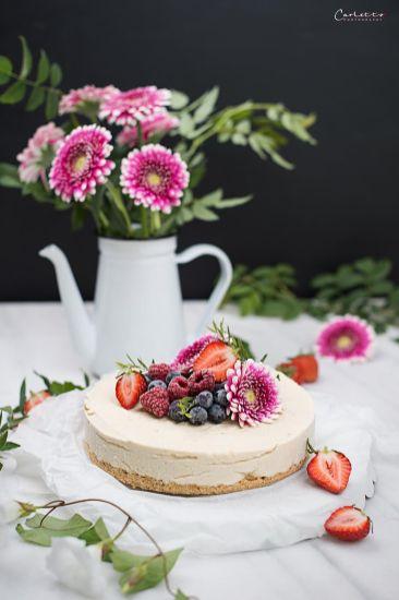 Cheesecake mit Cremelikör