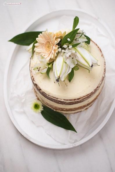 Karotten Naked Cake