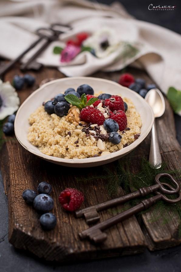 Hirse Porridge KochGEnuss