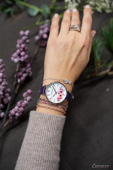 Julie Julsen Uhr Blumen