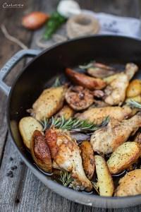 Hühnerfilets a la Provence