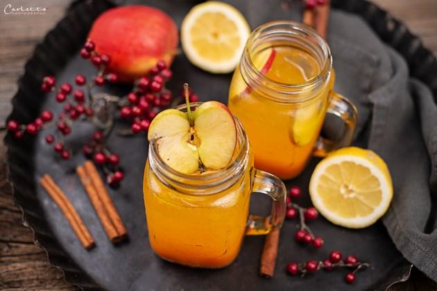 Kürbis Apfel Punsch