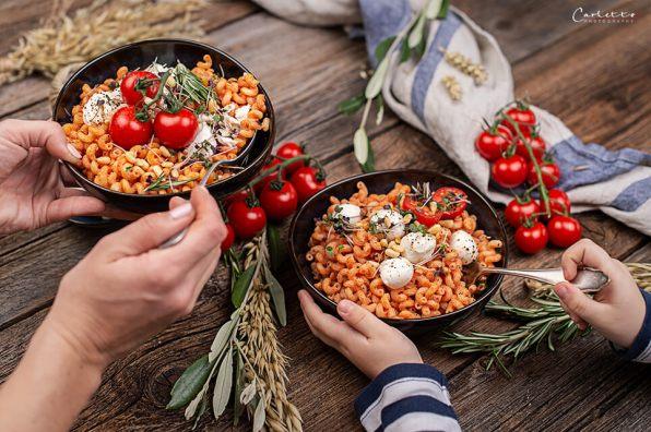 Nudeln mit Tomaten Ricotta Sauce_0674