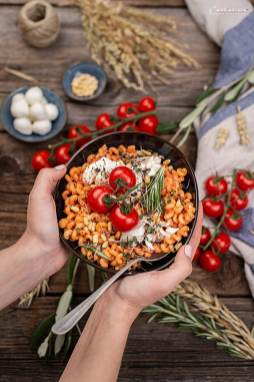 Nudeln mit Tomaten Ricotta Sauce_0695