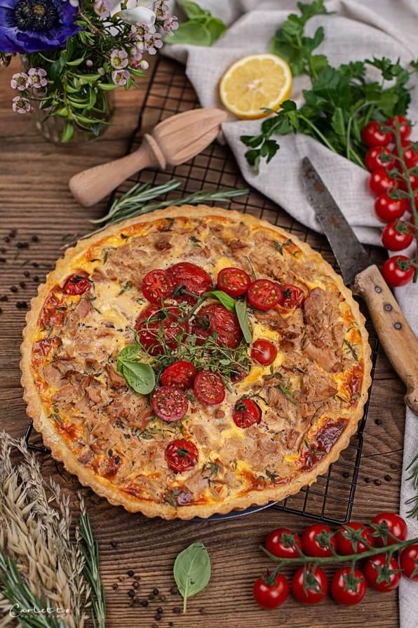 Thunfisch Tomaten Tarte