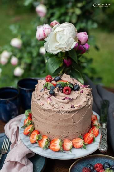 Haselnusscreme Torte_7164
