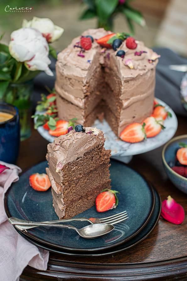 Haselnusscreme Torte_7205