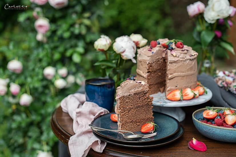 Haselnusscreme Torte_7213