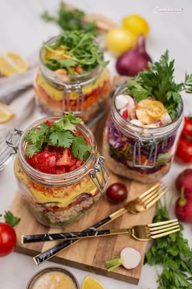 Schichtsalat im Glas_5295