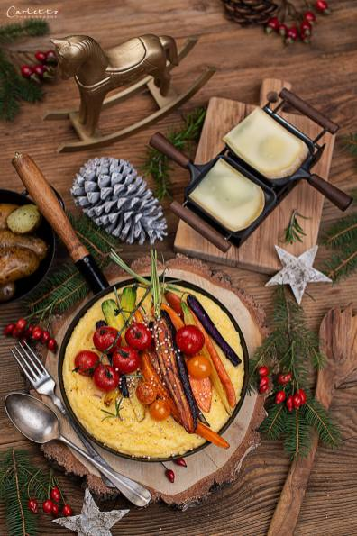 Raclette mit Polenta_0867