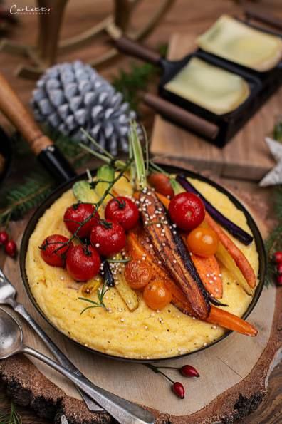 Raclette mit Polenta_0872