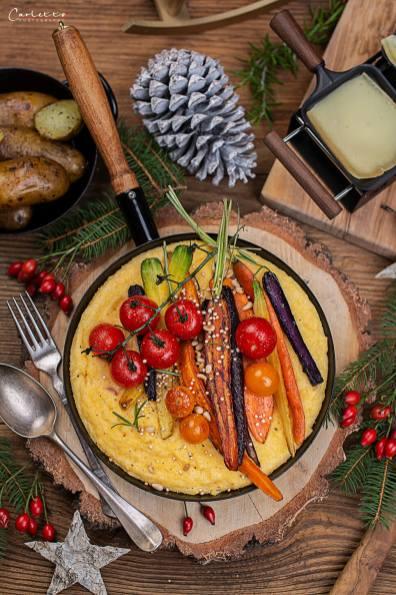 Raclette mit Polenta_0887