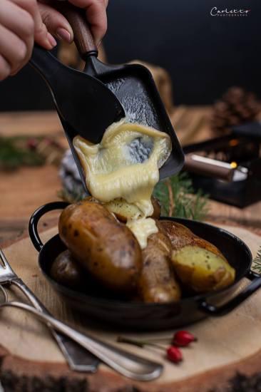 Raclette mit Polenta_0925