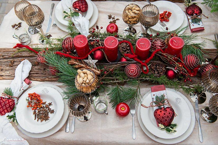 Weihnachtlicher Nusskranz_9498