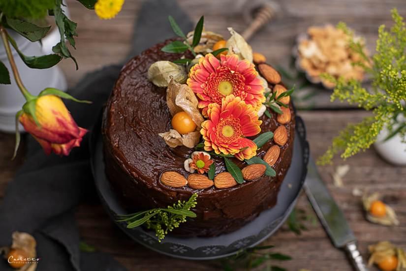 Schoko Torte Zuckerfrei_3128