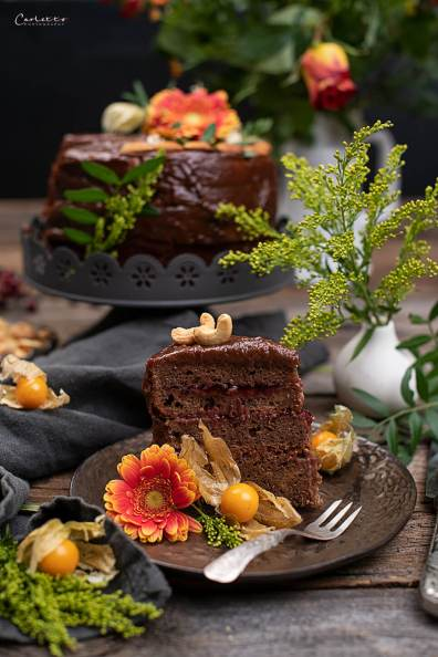 Schoko Torte Zuckerfrei_3154