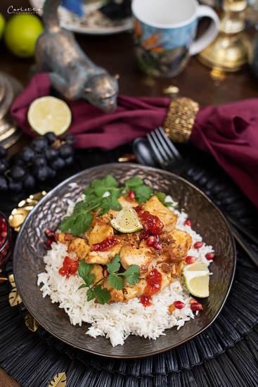 Huhn mit Ei India Sauce_5207