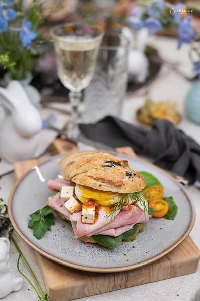 Oster Schinken Sandwich