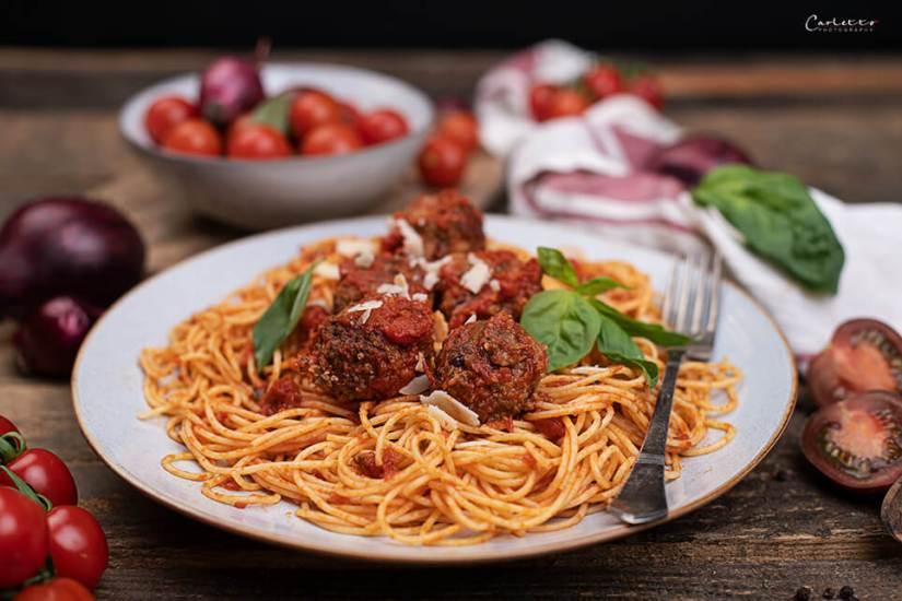 Spaghetti mit Fleischbällchen_3041