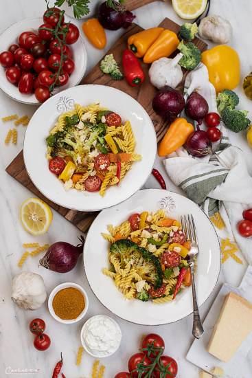 Nudel mit Curry Gemüse_0567