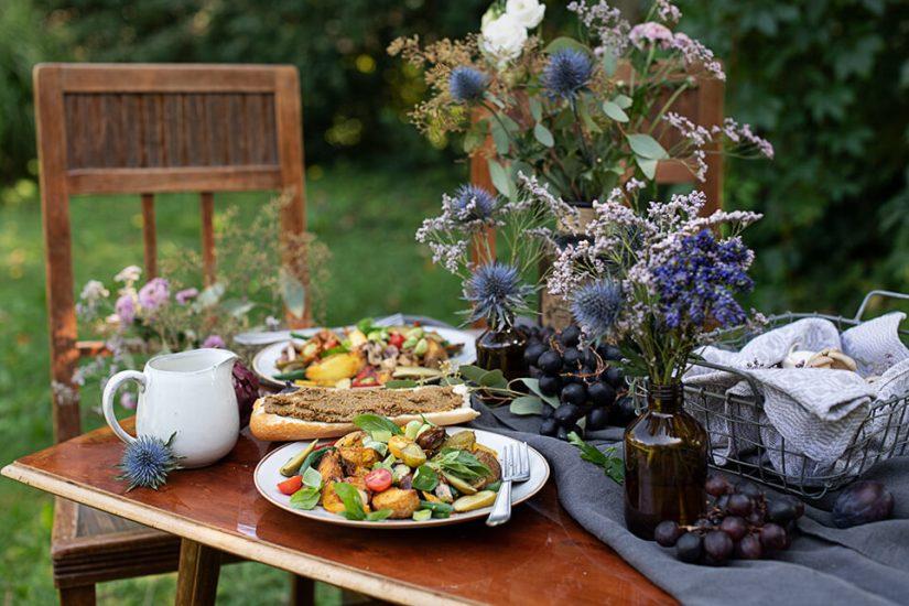 Essiggurken Gemüse Salat_0769