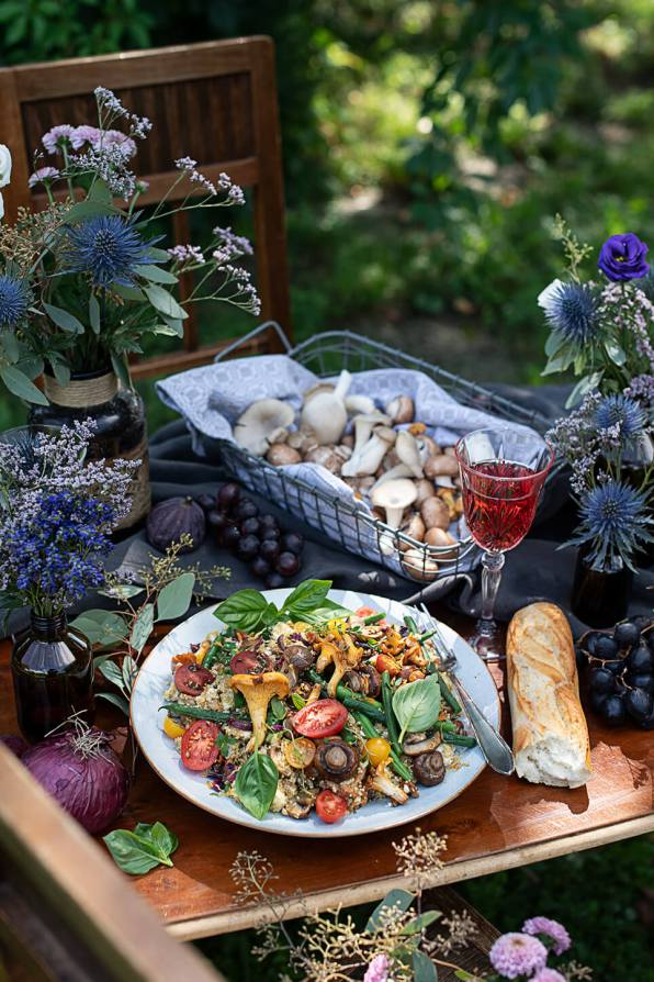 Quinoa Salat mit Gemüse_0484