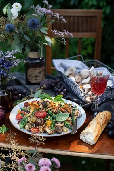 Quinoa Salat mit Gemüse_0492