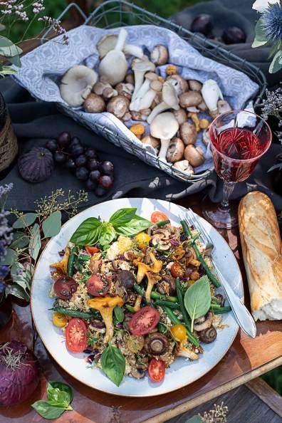 Quinoa Salat mit Gemüse_0494