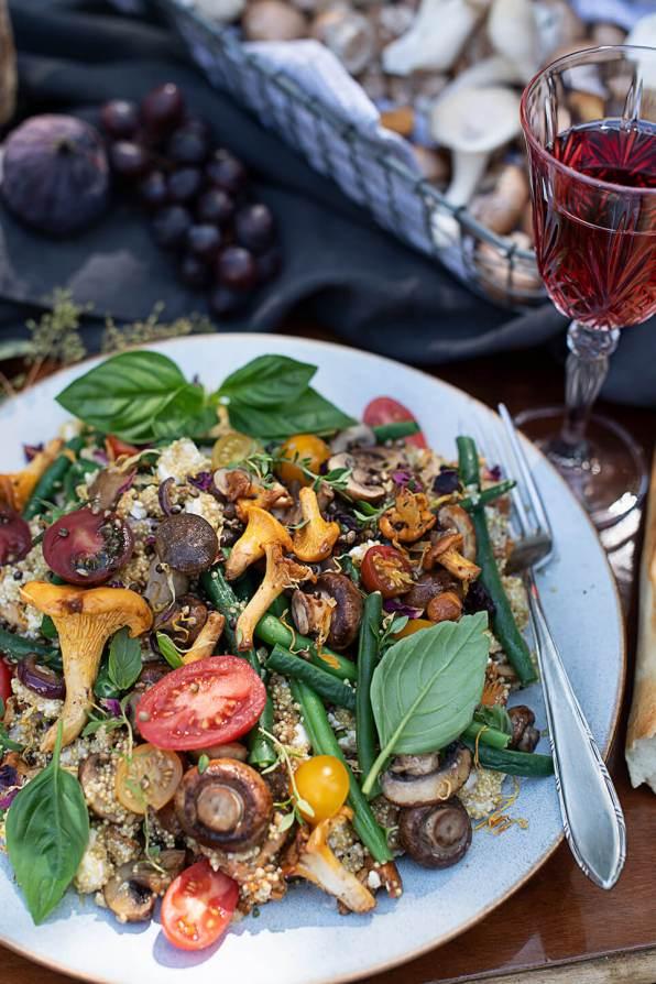 Quinoa Salat mit Gemüse_0541