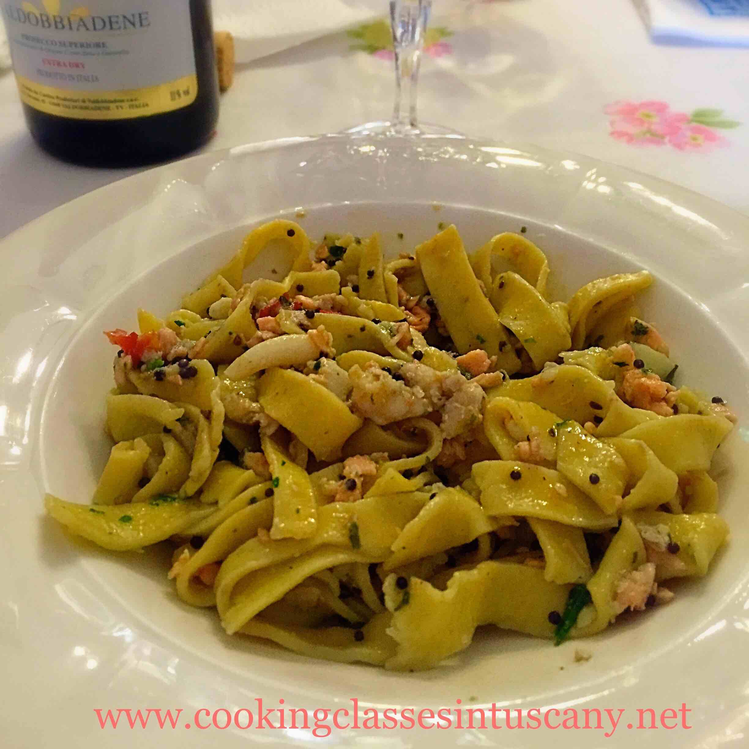 itinerant cooking school in tuscany fresh egg pasta