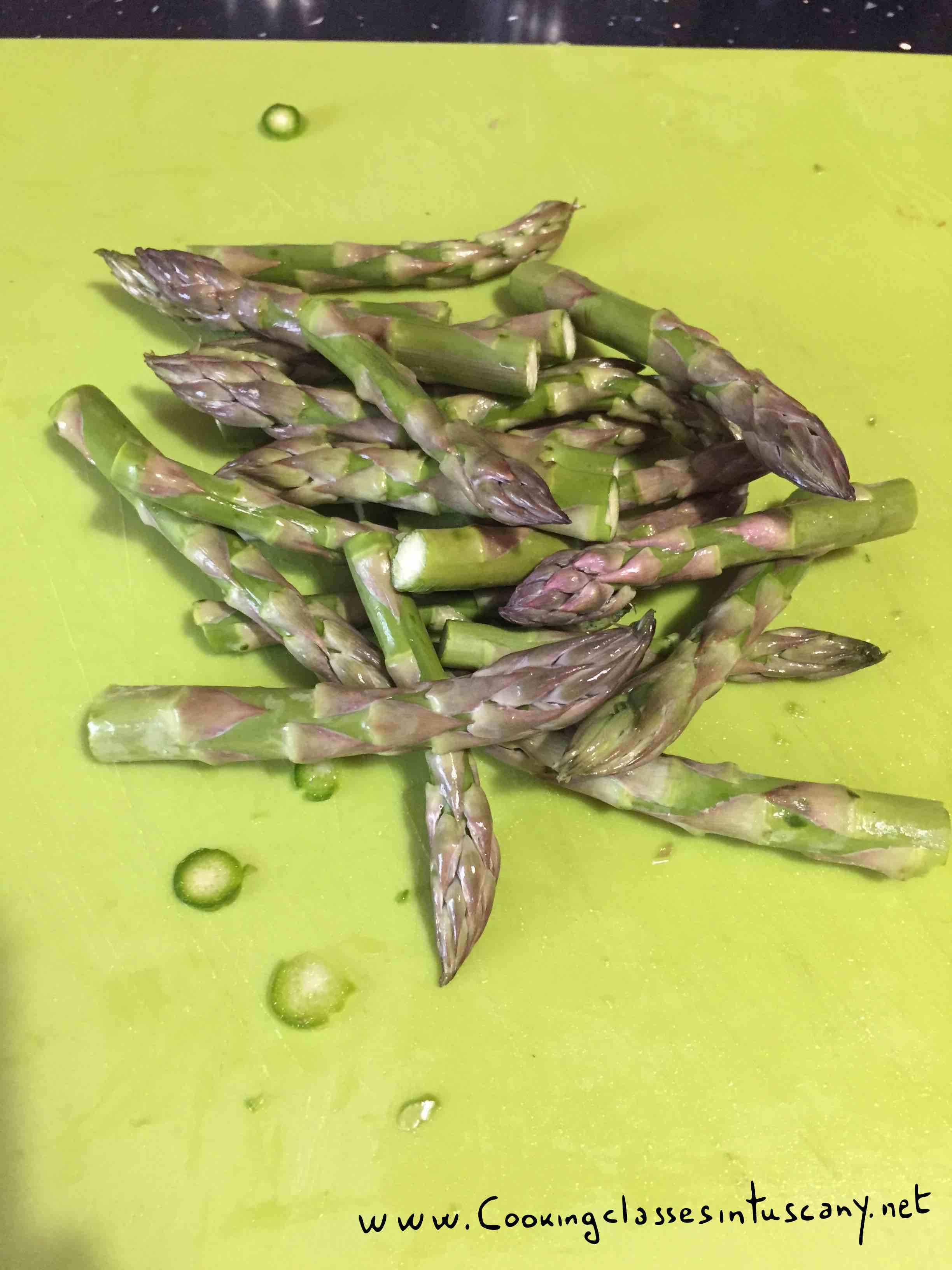 vegetarian cooking classes asparagus risotto