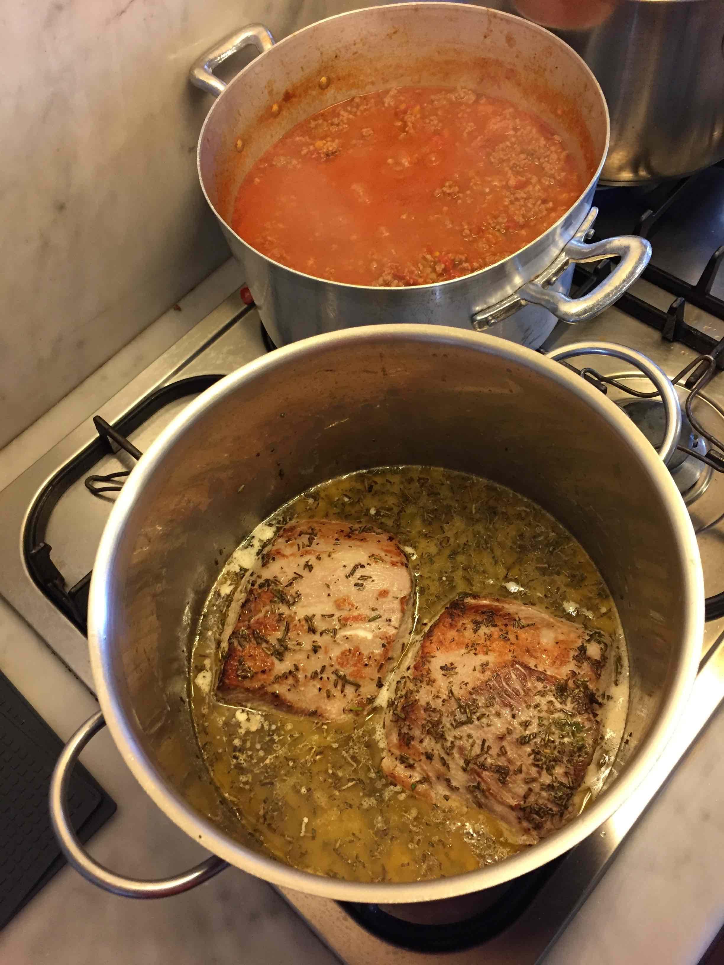 arista pork tuscan style cooking class