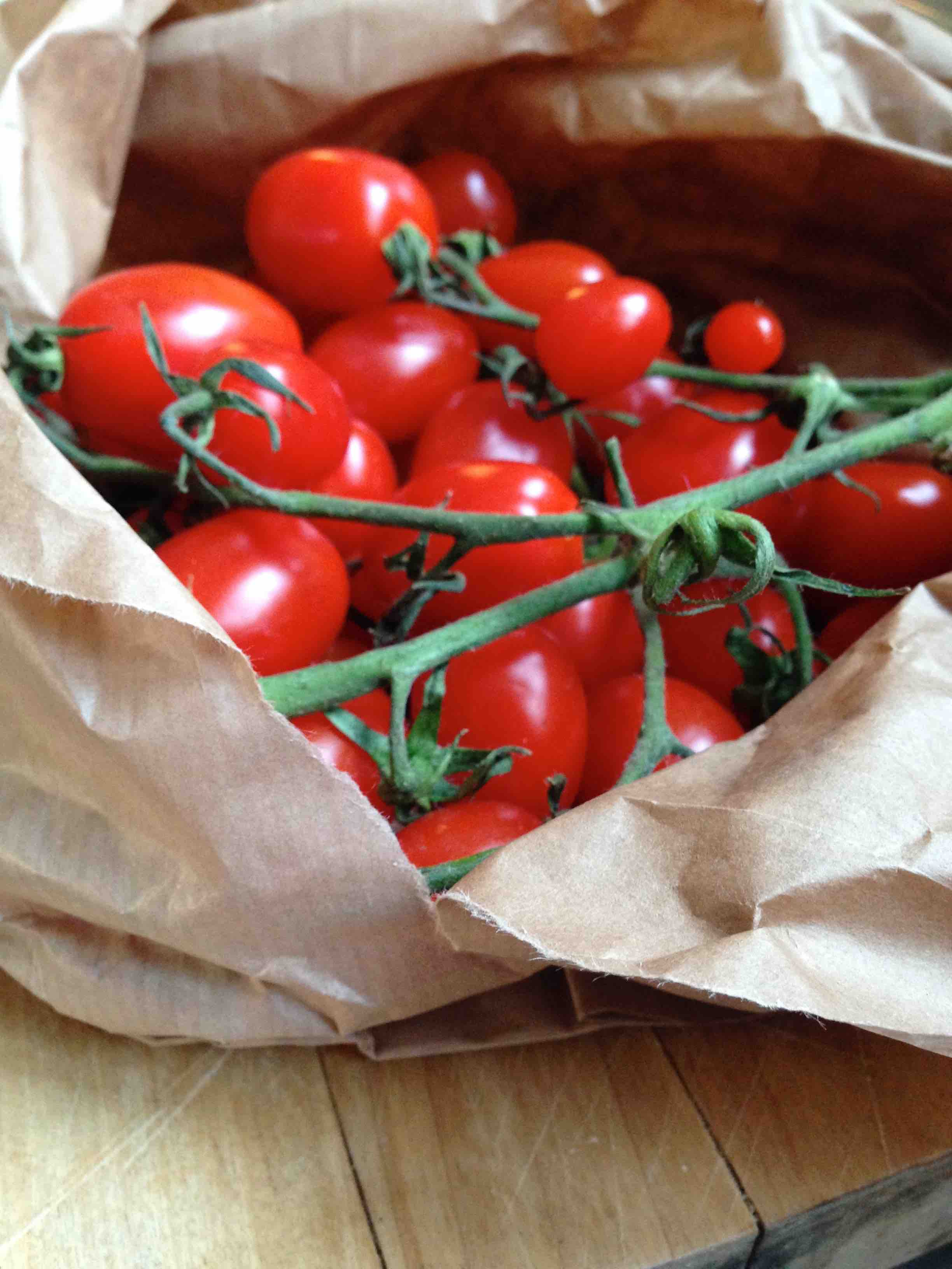 tomatoes to caramelize for a cookingclass in florence