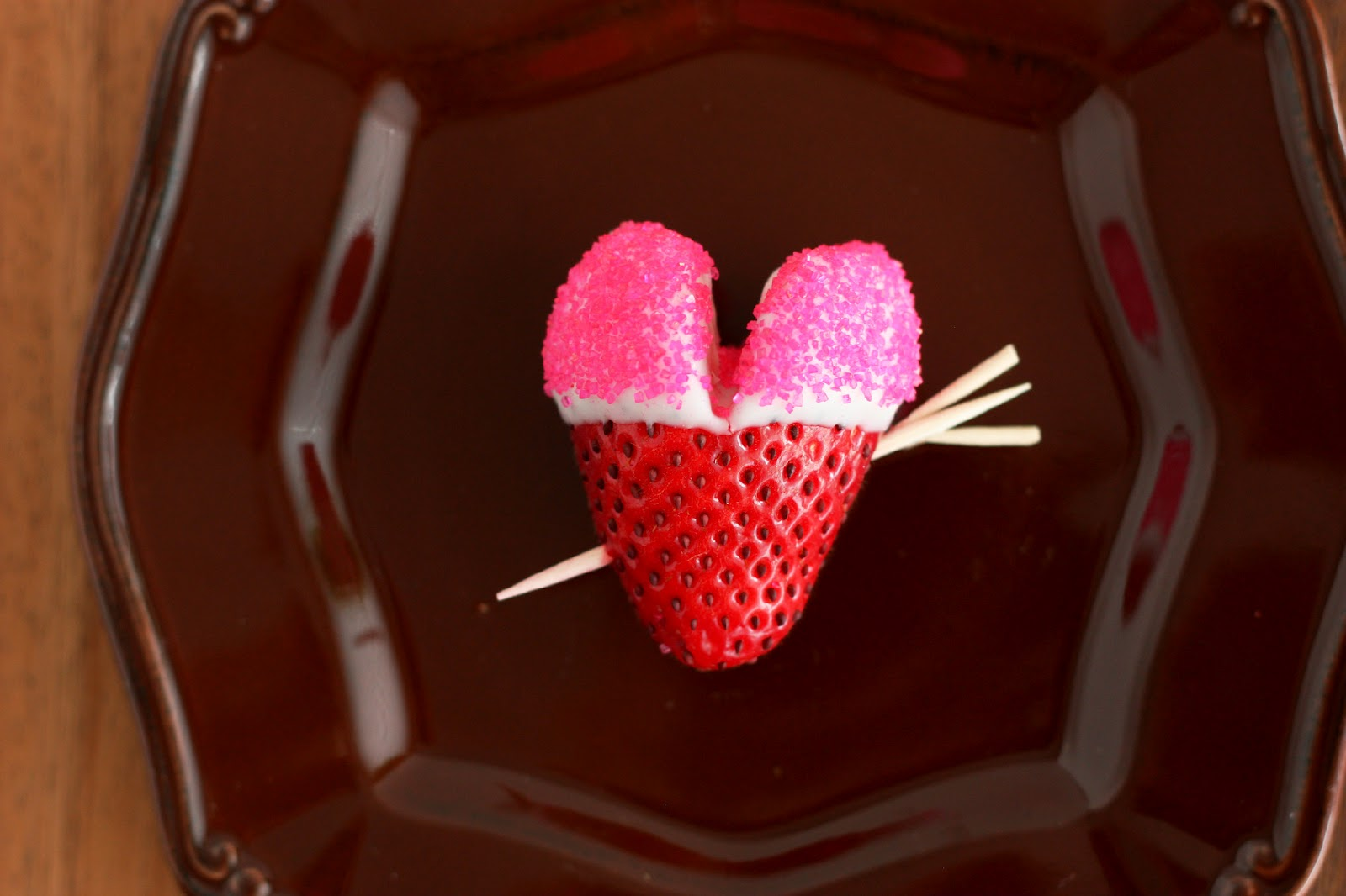 Chocolate Covered Love Struck Strawberry Hearts Cooking