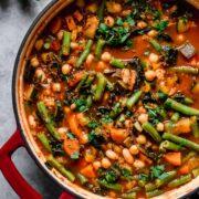 Kale and Quinoa Minestrone
