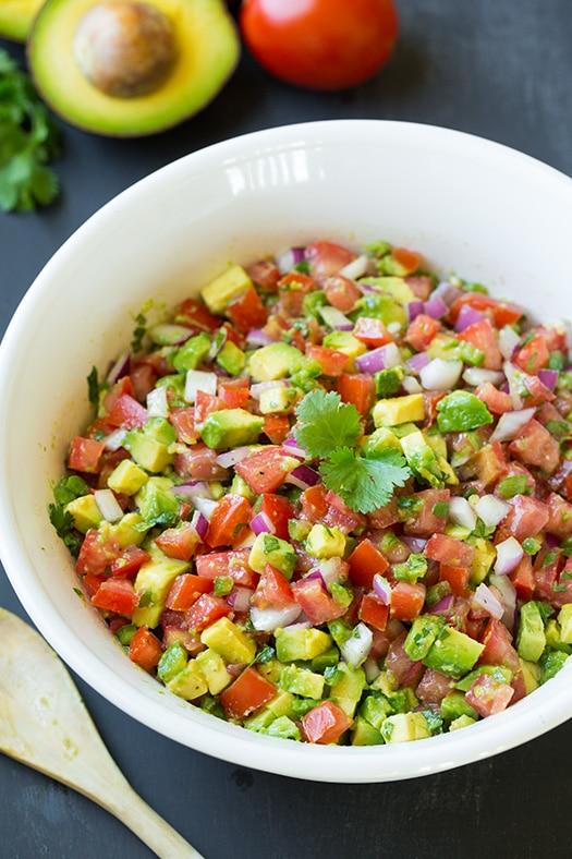 Avocado Salsa | Cooking Classy