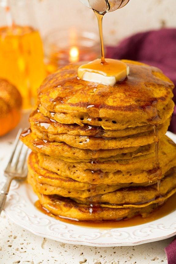 The Best Pumpkin Pancakes Cooking Classy