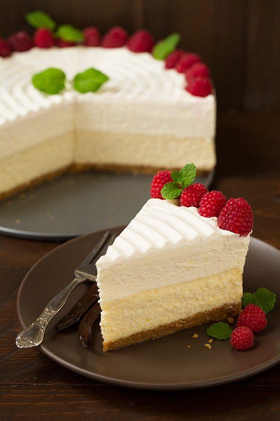 Vanilla Bean Cheesecake Cheesecake Factory Copycat