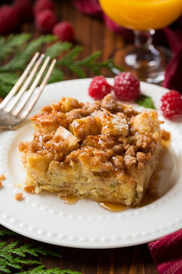 Overnight French Toast Casserole  Cooking Classy