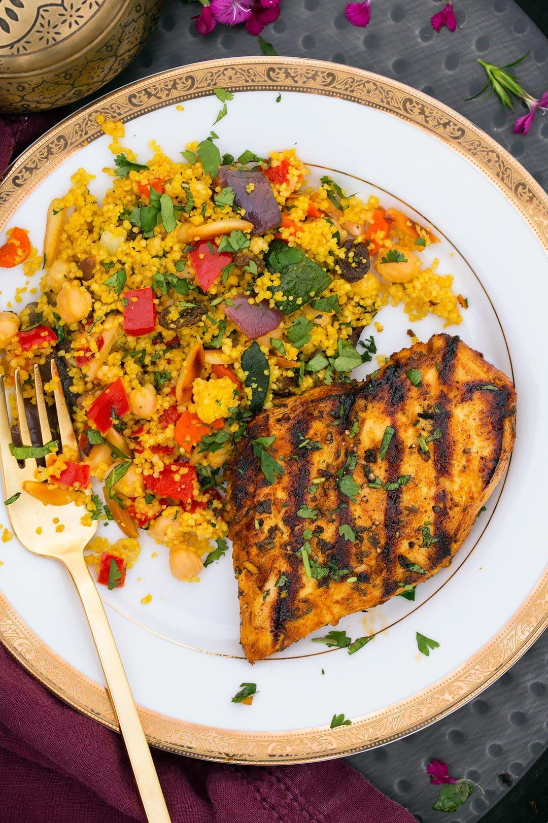 Fresh Order Grilled Vegetables