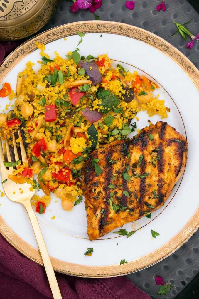 Moroccan Couscous Recipe (with Roasted Veggies) - Cooking