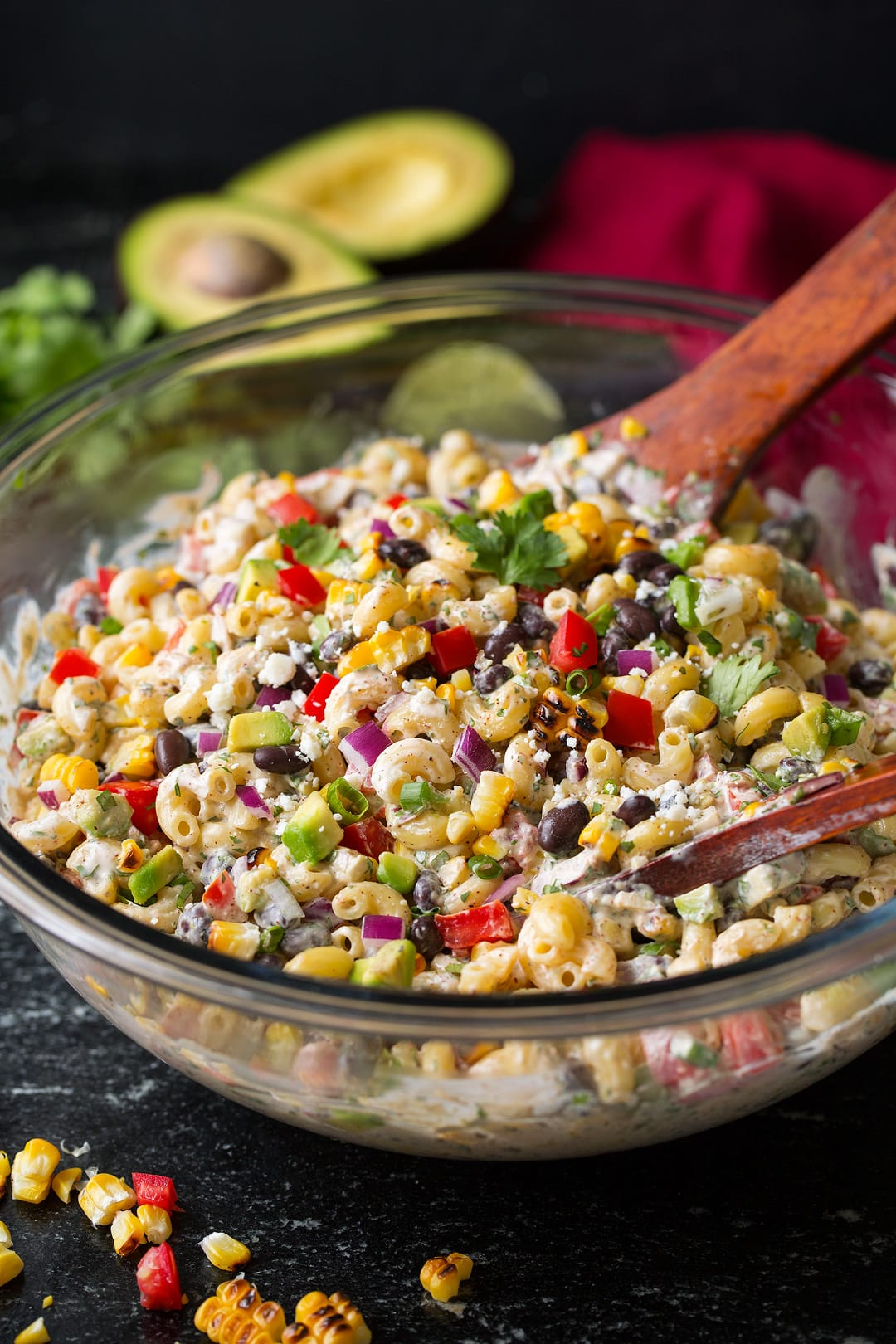 Mexican Macaroni Salad Cooking Classy