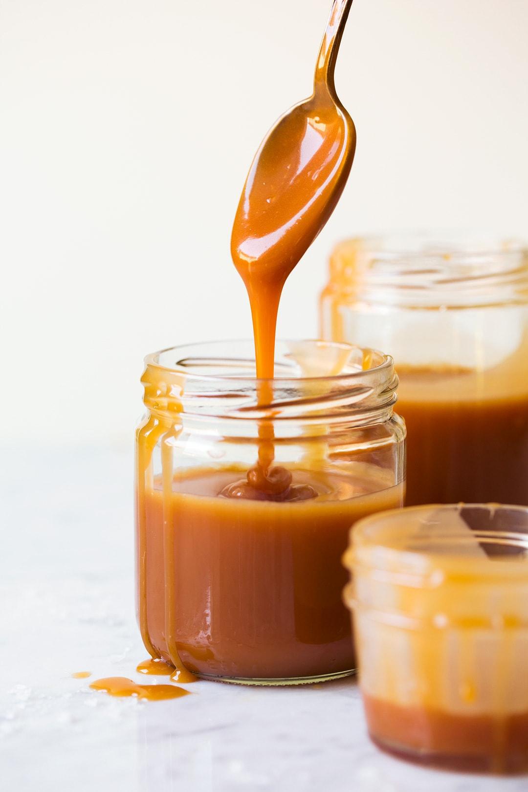 salted caramel sauce with