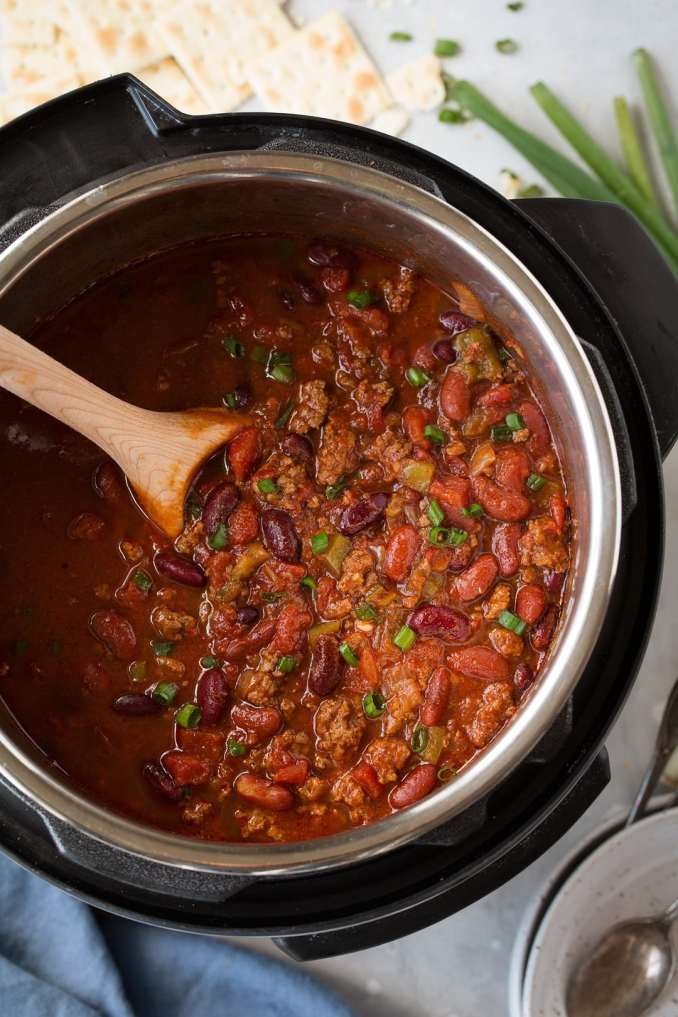 Instant Pot Chili - Cooking Classy