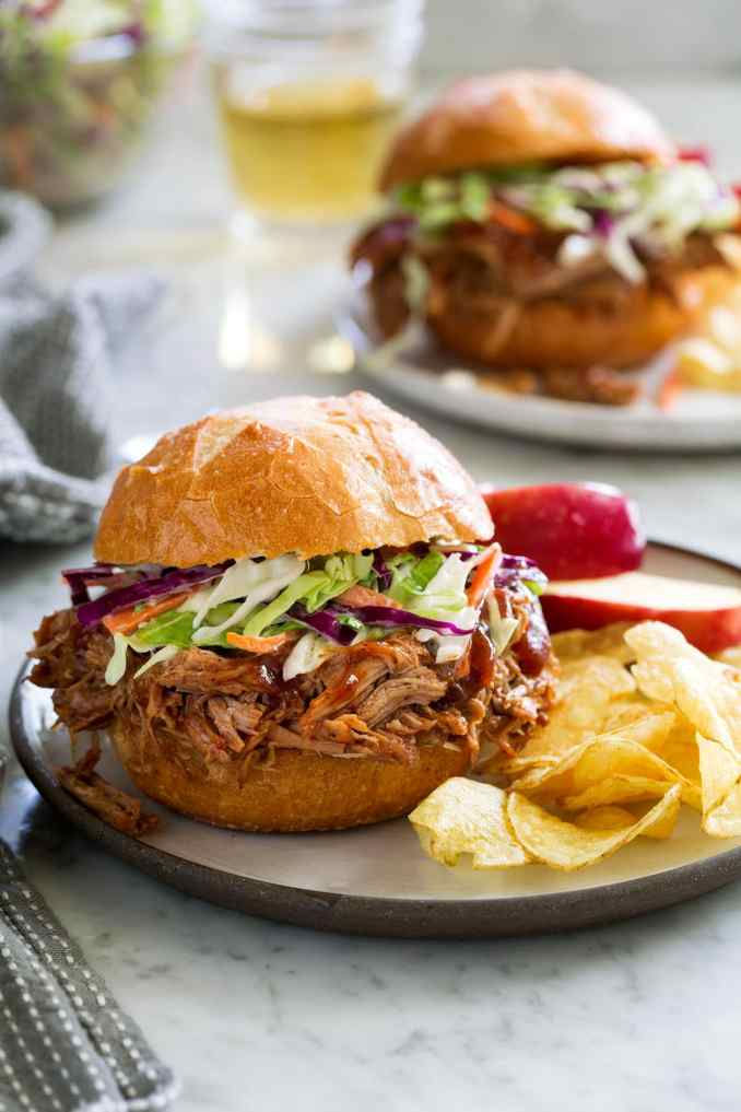 Pulled Pork Recipe (Slow Cooker Method) - Cooking Classy